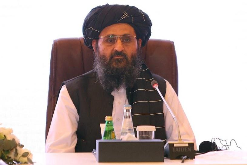 Mułła Abdul Ghani Baradar, polityczny przywódca talibów /AFP /AFP