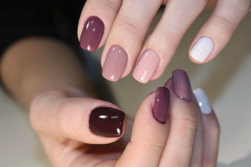 Multicolor nails to mocny trend tej wiosny /123RF/PICSEL