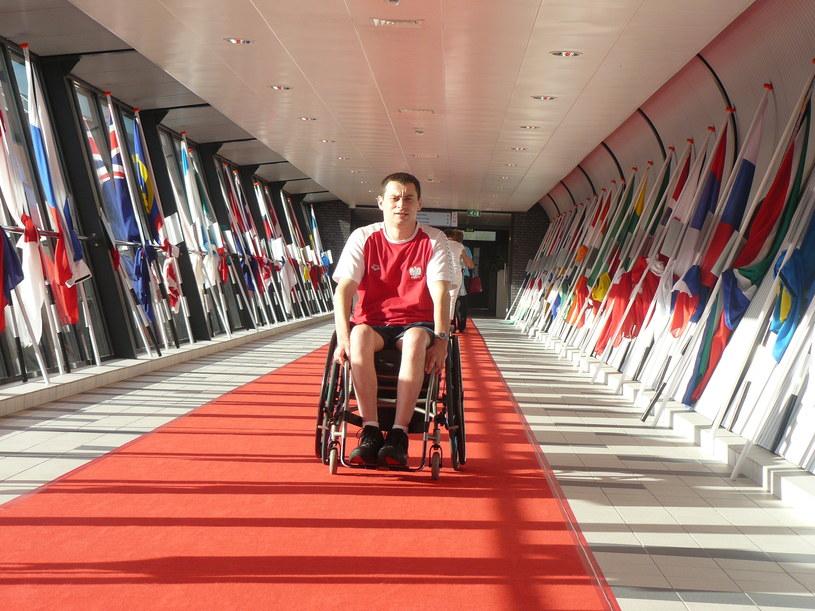 Multimedalista mistrzostw świata i paraolimpijczyk Jacek Czech /INTERIA.PL