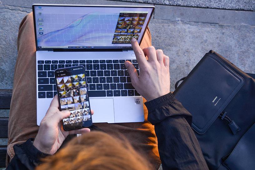 Multiscreen collaboration to jedna z tych funkcji, która ułatwia życie i pozwala na pracę bez kabli i czekania! /INTERIA.PL