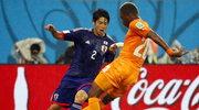 Mundial 2014: Japończycy przegrali w strugach deszczu