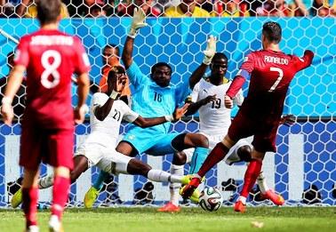 Mundial 2014: Portugalia pokonała Ghanę