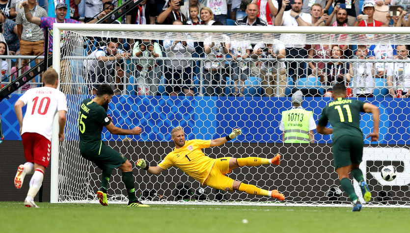 Mundial 2018. Dania - Australia 1-1 w grupie C