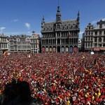 Mundial 2018. Huczne powitanie reprezentacji Belgii w kraju