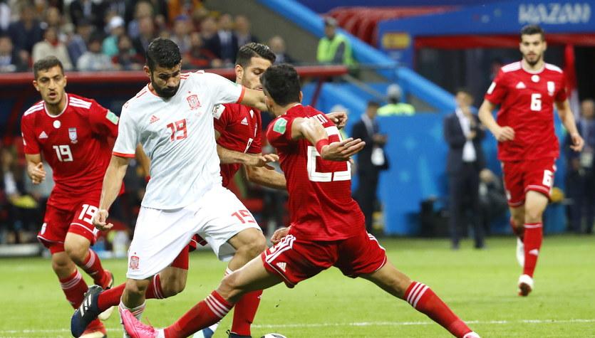 Mundial 2018. Iran - Hiszpania 0-1 w grupie B