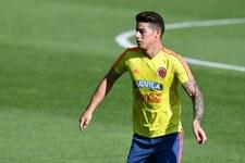 Mundial 2018. James Rodriguez opuścił trening Kolumbii
