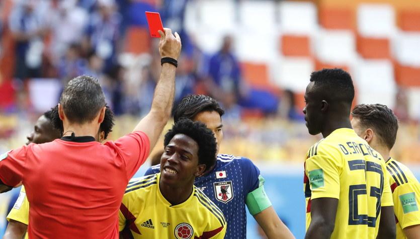 Mundial 2018. Kolumbijczyk Sanchez otrzymuje pogróżki