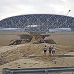 Mundial 2018. Powódź w Wołgogradzie. Woda podmyła stadion