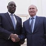 Mundial 2018. Putin gratuluje prezydentowi Senegalu wygranej z Polską