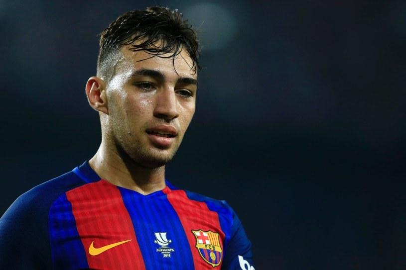 Munir El Haddadi w barwach Barcelony /AFP