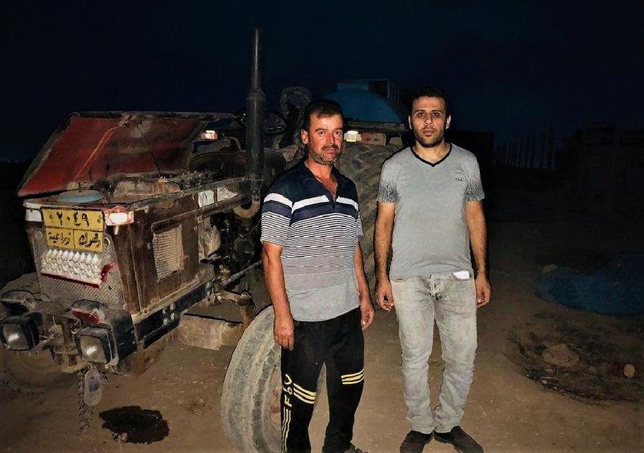 Munir Khalo potrzebuje wyremontować traktor /Materiały prasowe