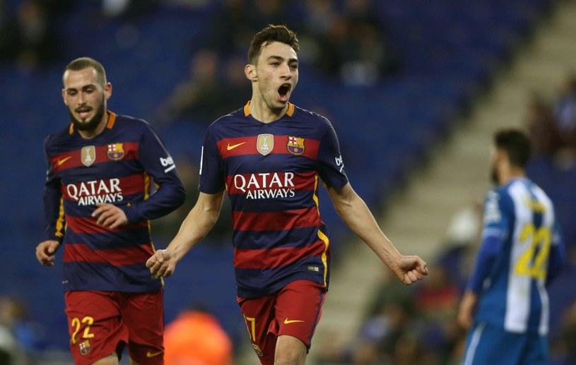 Munir strzelił dwa gole w meczu z Espanyolem /PAP/EPA