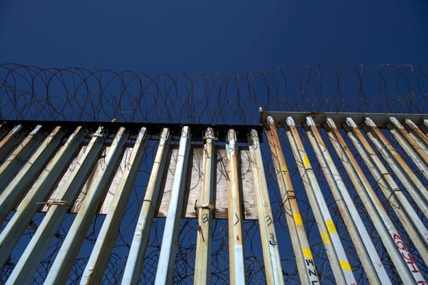 Mur między USA i Meksykiem /CHRISTIAN MONTERROSA /PAP/EPA