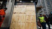 Mural Banksy'ego o uchodźcach został zasłonięty