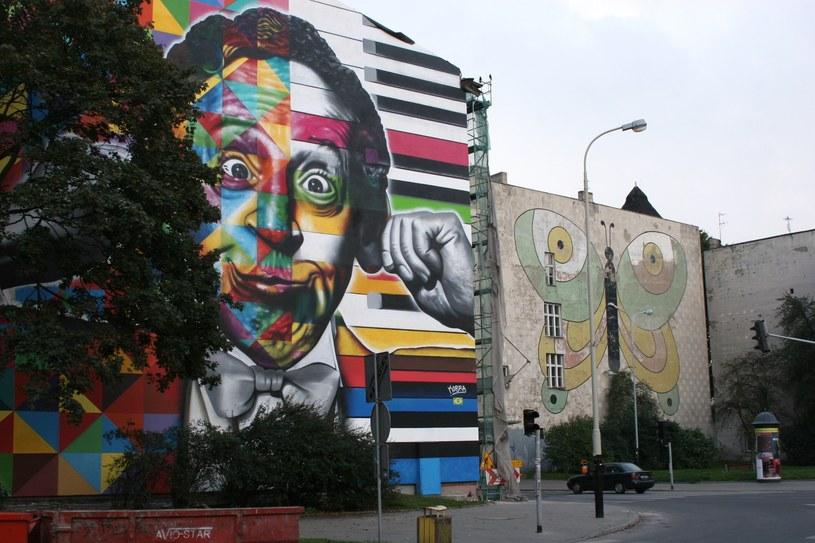 Mural na rogu ulic Traugutta i Sienkiewicza (autor: KOBRA) /Ewelina Karpińska-Morek /INTERIA.PL