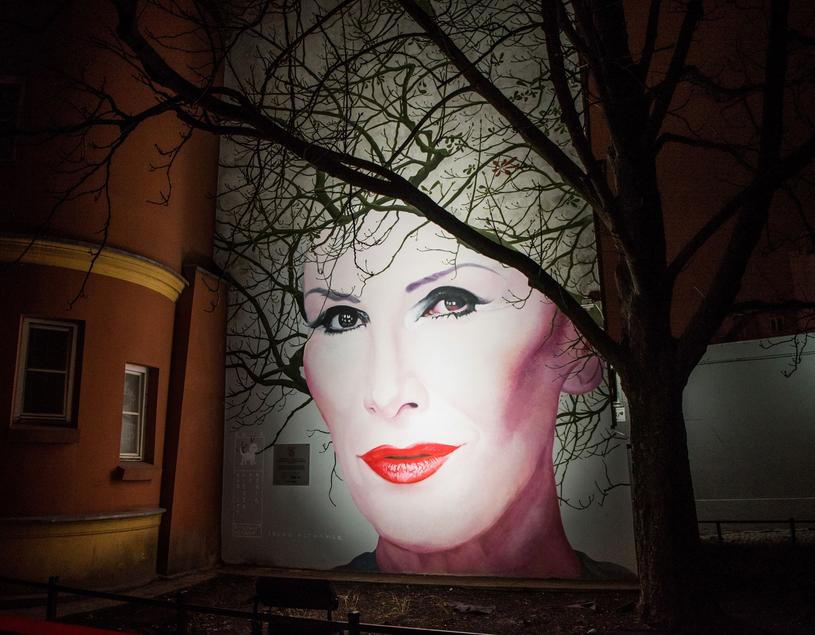 Mural poświęcony Korze /Justyna Rojek /East News