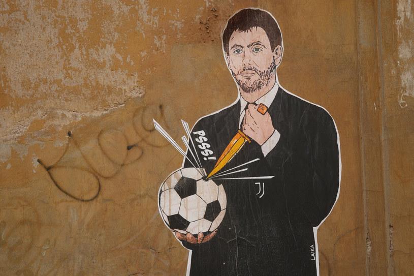 Mural prezentujący Agnelliego /AP /East News