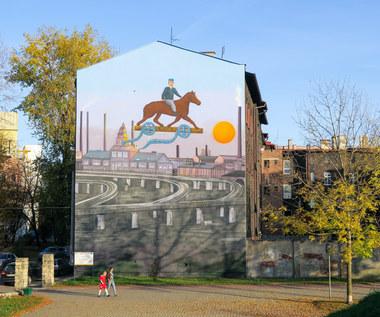 Mural w hołdzie Kazimierzowi Kutzowi