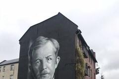 Mural z podobizną Wojciecha Korfantego odsłonięto w centrum Katowic