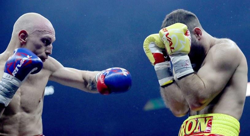 Murat Gassijew (z prawej) /AFP