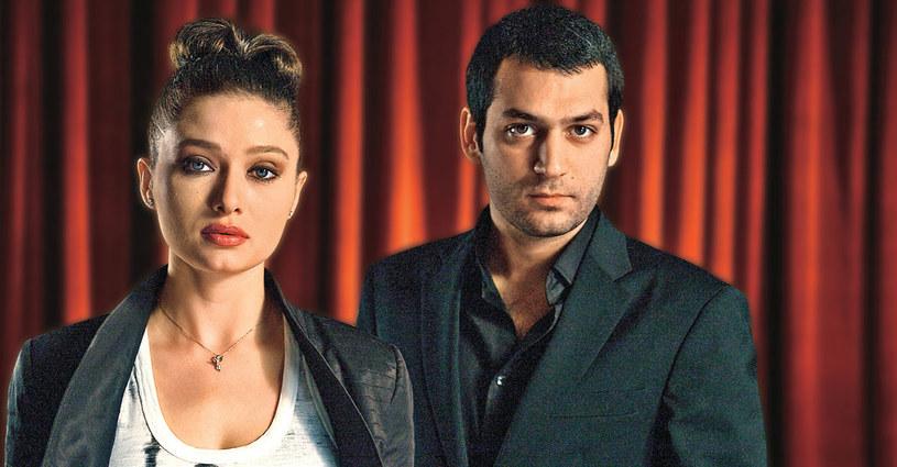 """Murata poznaliśmy jako Kartala z """"Królowej jednej nocy"""". Teraz występuje jako Sawasz w """"Cenie miłości"""", a towarzyszy mu Nurgül Yeşilçay /Kurier TV"""