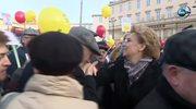 """""""#Murem za Hanką"""". Marsz poparcia dla prezydent Łodzi"""