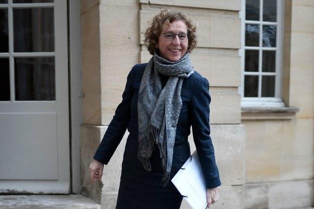 Muriel Penicaud, minister pracy Francji /AFP