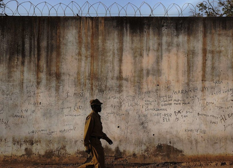 Mury więzienia w Sudanie /AFP