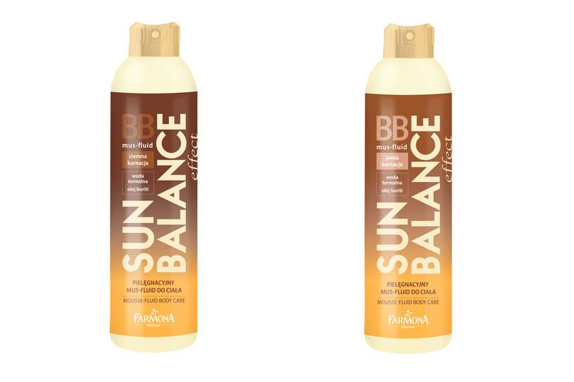 Mus-fluid BB do ciała Sun Balance /materiały prasowe