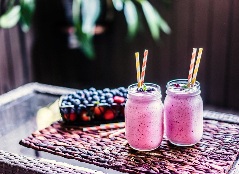 Mus jogurtowo-owocowy /Picsel /123RF/PICSEL