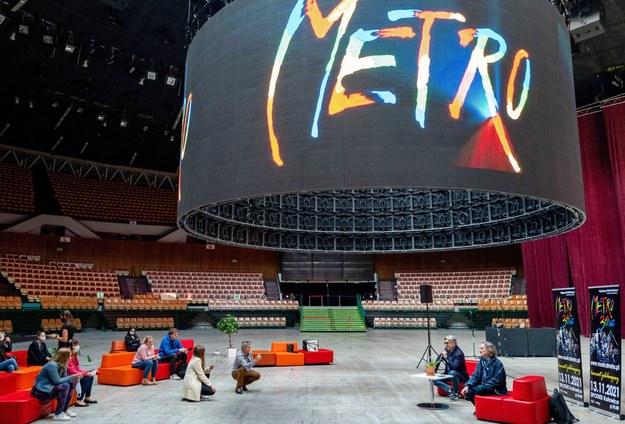 """Musical """"Metro"""" świętuje 30-lecie w katowickim Spodku /Andrzej  Grygiel /PAP"""