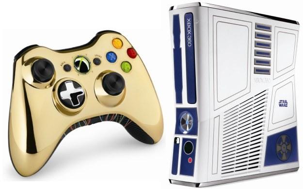 Musicie przyznać, że Xbox 360 w barwach Star Wars wygląda obłędnie! /Informacja prasowa
