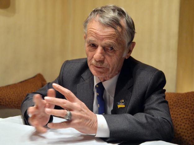 Mustafa Dżemilew przebywa na terytorium Ukrainy /AFP