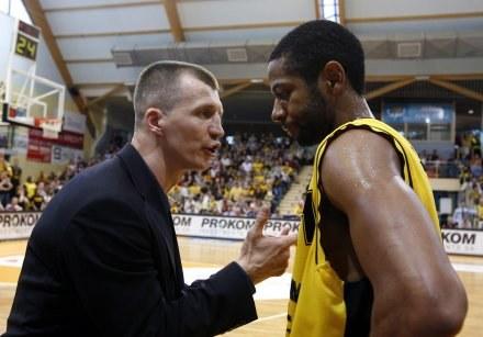 Mustafa Shakur (z prawej)/fot. Wojciech Figurski /Agencja Przegląd Sportowy