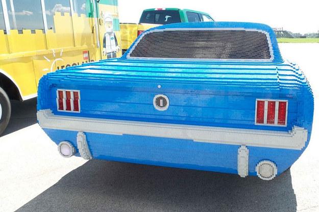 Mustang z klcków Lego /