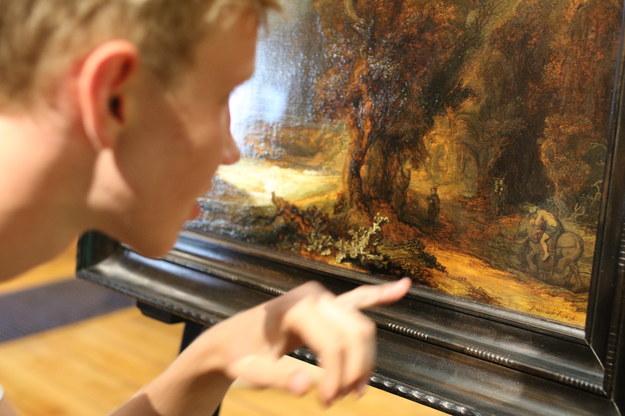 Muzeum Czartoryskich w Krakowie udostępniło obraz Rembrandta /Stanisław Rozpędzik /PAP
