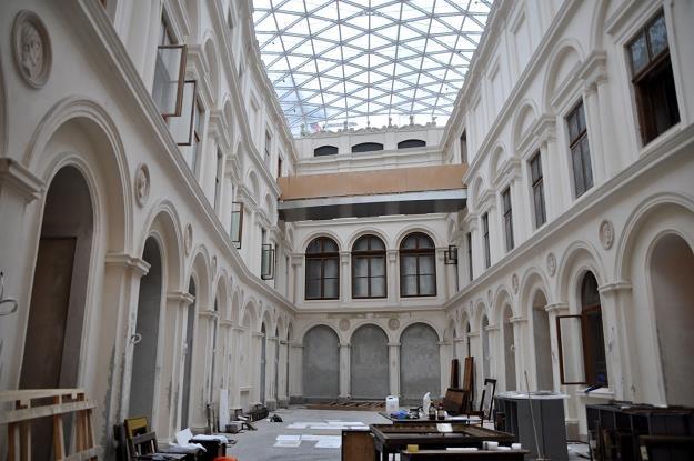 Muzeum Książat Czartoryskich w Krakowie (w remoncie). Fot. ALBIN MARCINIAK /Agencja SE/East News