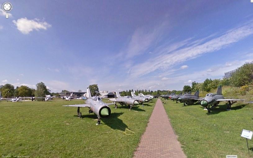 Muzeum Lotnictwa Polskiego w Krakowie - widziane oczami Google Street View /materiały prasowe