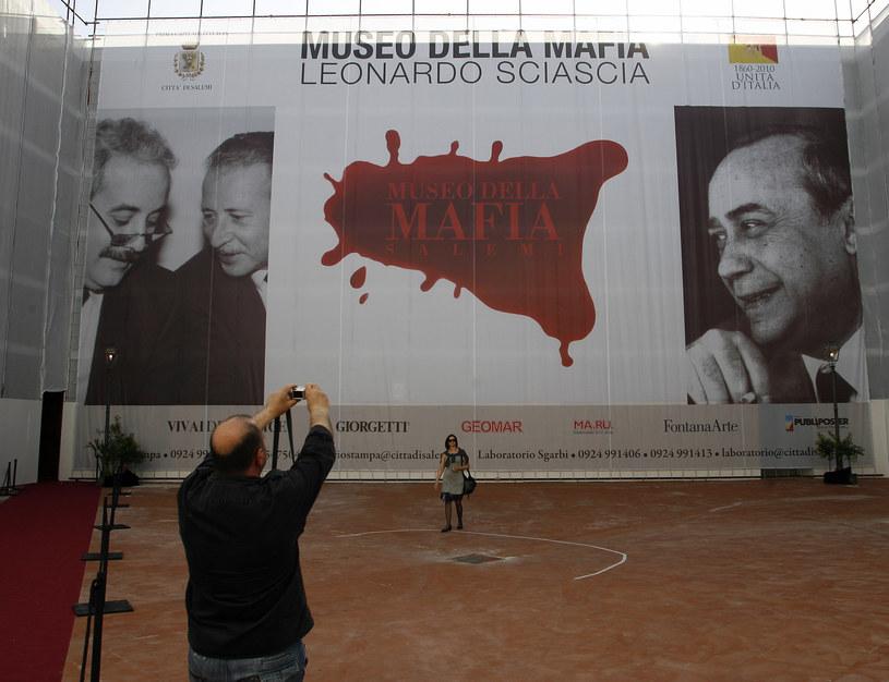 Muzeum mafii w Salemi pod miastem Trapani /MARCELLO PATERNOSTRO /AFP