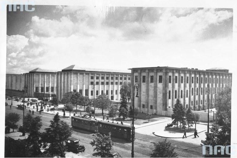 Muzeum Narodowe w Warszawie, czerwiec, 1938 r. /Z archiwum Narodowego Archiwum Cyfrowego