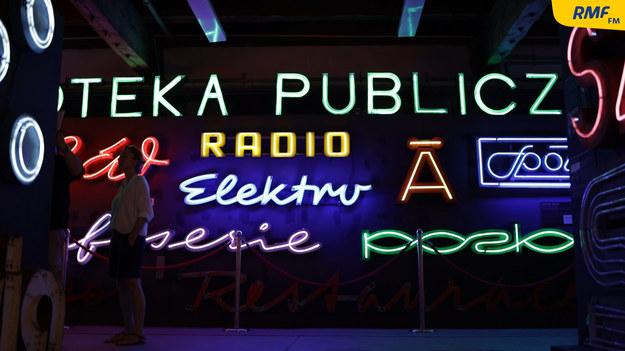 Muzeum Neonów /Michał Dukaczewski /RMF FM