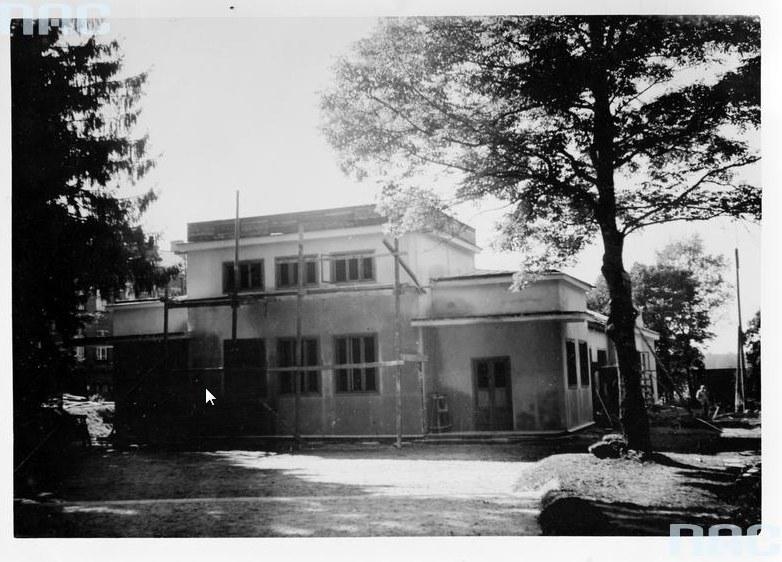 Muzeum Puszczy Białowieskiej w Białowieży /Z archiwum Narodowego Archiwum Cyfrowego