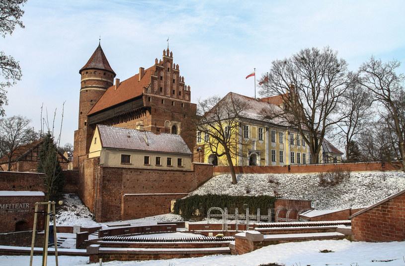 Muzeum Warmii i Mazur w Olsztynie znajduje się w gotyckim zamku kapituły warmińskiej /Artur Szczepański /Reporter