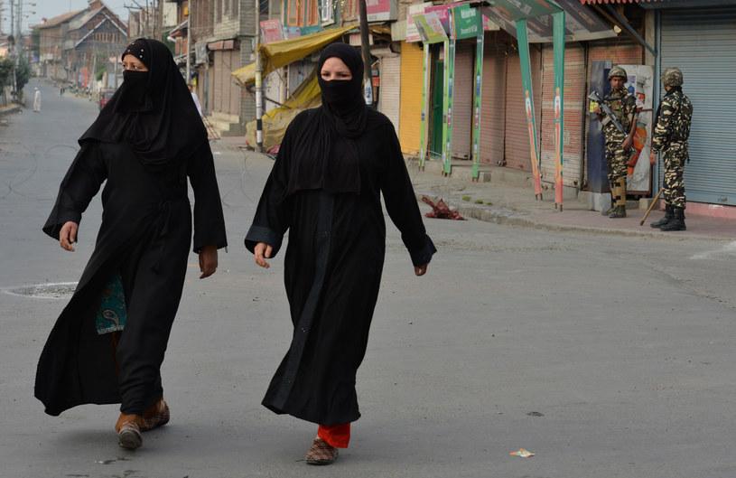 Muzułmańskie kobiety w nikabie /AFP