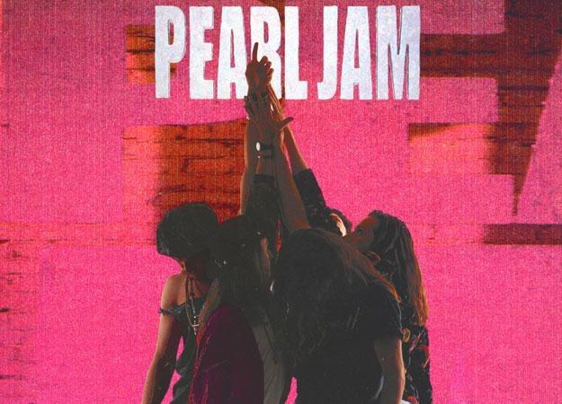 """Muzycy Pearl Jam na ikonicznej okładce """"Ten"""" /"""