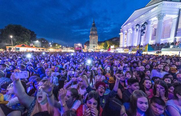 Muzyczny festiwal Schlossgrabenfest w Darmstadt /AFP