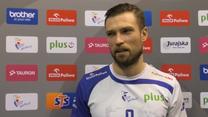 MVP Andrzej Wrona (VERVA Warszawa) komentuje zwycięstwo nad Cuprum Lubin