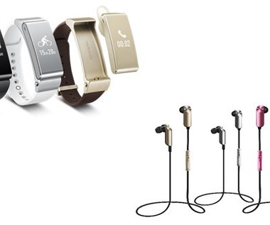 MWC 2015: Huawei smartband TalkBand B2 i zestaw słuchawkowy TalkBand N1