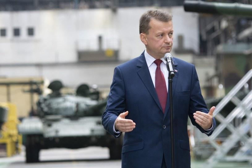 """""""My name is Błaszczak. Mariusz Błaszczak"""" /Michał Dubiel /Reporter"""