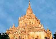 Myanmar, światynia Gawdawpalin, XII w. /Encyklopedia Internautica